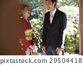 kimono marriage, groom, bride 29504418