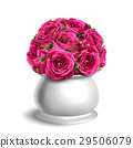 Bouquet of Roses in Flowerpot Congratulation 29506079
