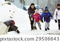 孩子们在白雪皑皑的国家 29506643