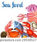 海鲜 鱼 矢量 29508527