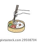午餐盒插圖 29508704