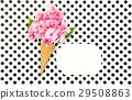 ice, cream, flowers 29508863