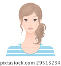女生 女孩 女性 29513234