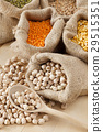 bean board burlap 29515351