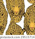 illustration of leopard, graphic  animal 29515714