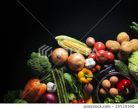 蔬菜·黑背 29519360