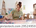 Enjoying painting 29524950