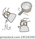 燒水用的水壺 熱水 平底鍋 29526306