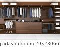 wardrobe and walk in closet 29528066