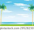남국의 해변 일러스트 29528230