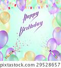 birthday, happy, card 29528657
