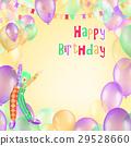 birthday, happy, card 29528660