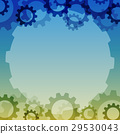Vector background with a gear element.  29530043