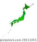 白色地面的日本海島 29531055
