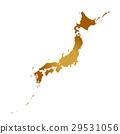 白色地面的日本海島 29531056