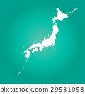矢量 日本列岛 日本地图 29531058