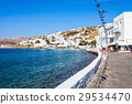 Mykonos city harbour, Greece 29534470