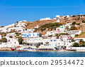 Mykonos city harbour, Greece 29534472