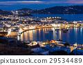 Mykonos island in Greece 29534489