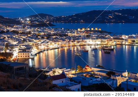 Mykonos island in Greece 29534489