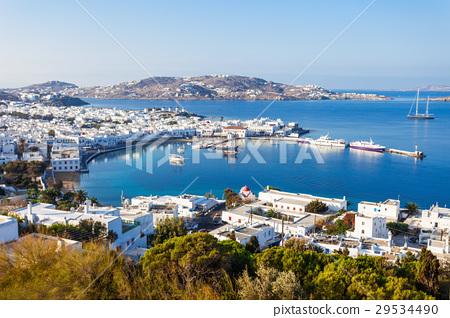 Mykonos island in Greece 29534490