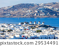 Windmills on Mykonos, Greece 29534491