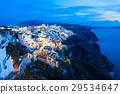 Fira town, Santorini island 29534647
