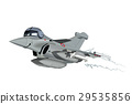 vector, fighter, plane 29535856