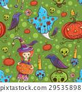 halloween pattern 29535898