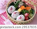 Sakura onigiri的樱花午餐盒 29537635