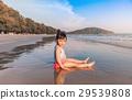 海灘 女孩 少女 29539808