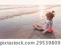 海灘 女孩 少女 29539809