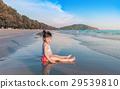 海灘 女孩 少女 29539810
