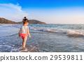 海灘 玩耍 玩 29539811