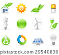 Ecology and Green Energy icon set 29540830