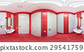 Restroom with toilet and washbasin 29541759
