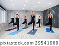 Yoga Practice Exercise Class Concept 29541969