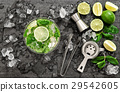 cocktail mint lime 29542605