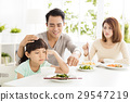 child refuses to eat while family dinner 29547219