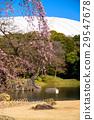 koishikawa kourakuen garden, pond, lagoon 29547678
