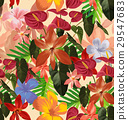 floral seamless pattern 29547683
