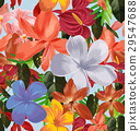floral seamless pattern 29547688