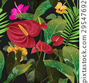 floral seamless pattern 29547692