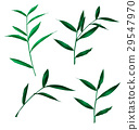 green leaf set 29547970