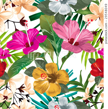 floral seamless pattern 29548049