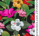 floral seamless pattern 29548054