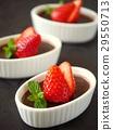 布丁 甜食 糕點 29550713
