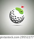 Golf icon logo. 29552277