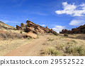 red rock, red rocks park, sandstone 29552522
