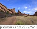 red rocks amphitheater, red rocks park, sandstone 29552523